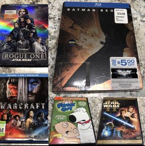 Random Blu-ray DVD Movie Collection for Sale in Antioch, CA