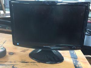 """19"""" sharp LCD Liquid Crystal TV for Sale in Manassas, VA"""