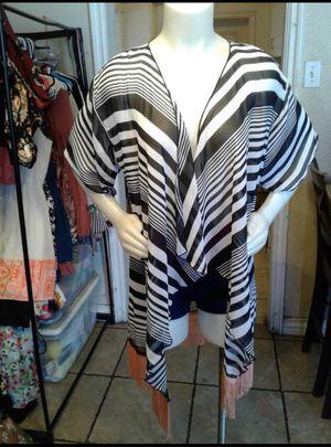 Lularoe Fringed Kimono size small for Sale in Fontana, CA