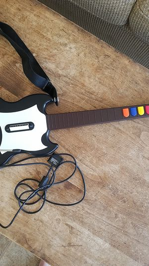 PS2 Guitar Hero wired controller (no game) for Sale in Grover Beach, CA
