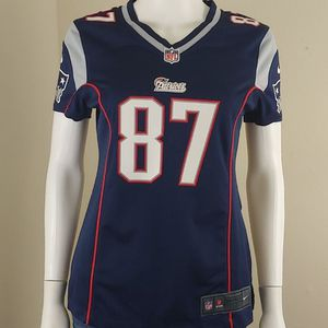 New England Patriots Rob Gronkowski Nike NFL Football Jersey Womens NWOT Size S for Sale in West Carson, CA