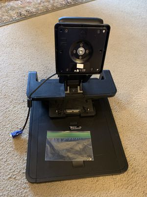 HP Ergotron laptop dock and monitor stand for Sale in Puyallup, WA