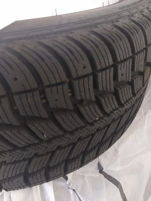 "Set of 4 Almost NEW Winter Tires, 10/32"" thread! for Sale in Chelsea, MA"