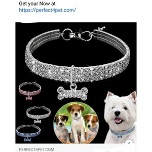Crystal dog collar for Sale in Los Angeles, CA