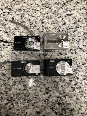 Digital cameras Sony, Panasonic, Casio for Sale in Revere, MA