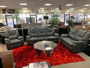 Sofa & loveseat & Rocker Recliner on Sale @ elegant Furniture🎈🛋 for Sale in Fresno, CA