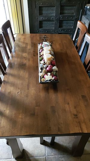 Dining room table with 6 chairs for Sale in Redlands, CA