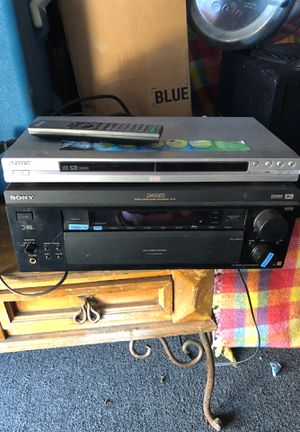 Sony receiver with DIRECTV /DVD / tape/tuner/phono/DVD player included 180 or best offer serious buyers only for Sale in Los Angeles, CA