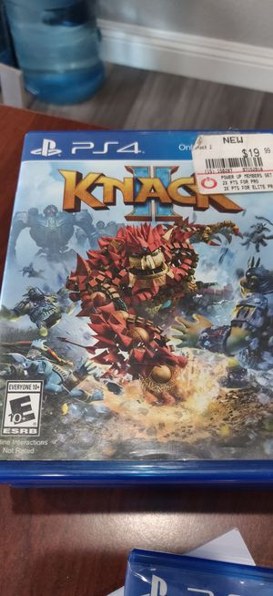 Knack 2 PS4 for Sale in San Diego, CA