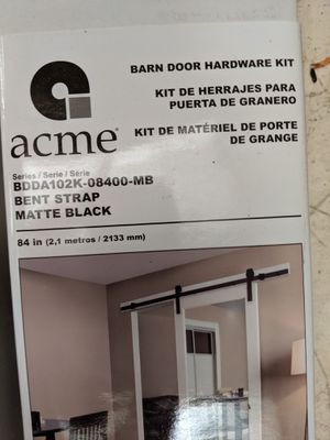 NEW hardware kit for barn door for Sale in Lakeway, TX
