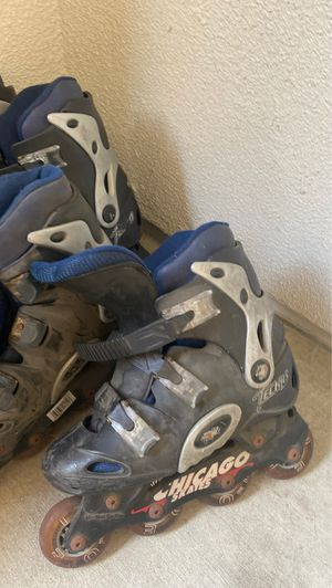 Size 12 and size 7 Chicago skates for Sale in Huntington Beach, CA