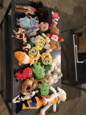 Stuffed animal collection for Sale in Alsip, IL