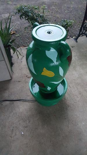Vase water fountain for Sale in San Antonio, TX