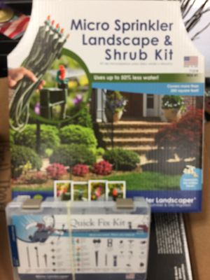 Mister Landscaper Micro Sprinkler Landscape & Shrub Kit & Quick Fix Kit for Sale in Davidson, NC