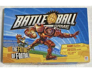BATTLE BALL GAME BOARD GAME MILTON BRADLEY 2003. THE FUTURE OF FOOTBALL. AGES 8+ for Sale in Aliquippa, PA