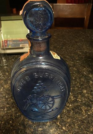Old bottle from 1970 for Sale in Martinsburg, WV