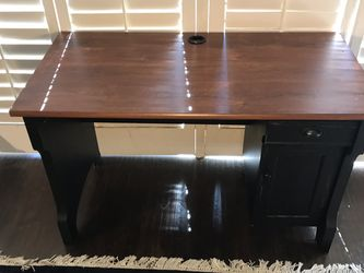Small Desk With Drawer And Storage Cubby for Sale in Huntington Beach,  CA