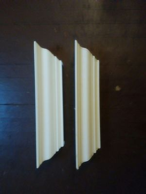 Two wooden wall hanging shelves for Sale in Richmond, VA
