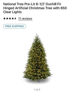6.5 Prelit Christmas Tree for Sale in Bakersfield, CA