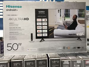 50 INCH HISENSE ANDROID 4K ULTRA SMART TV 📺 for Sale in Chino, CA