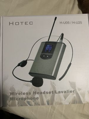 Headset wireless microphones for Sale in Houston, TX