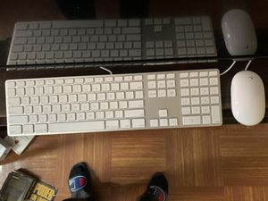 Apple Original Keyboard (Full) + Mouse for Sale in New York, NY