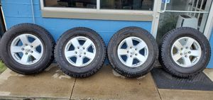 RIMS AND TIRES P265/70R17 LIKE NEW for Sale in Chicago, IL