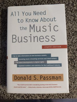 All You Need To Know About the Music Business by Donald Passman for Sale in Corinth, TX