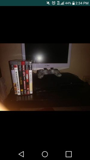 Ps3 6 games all cords for Sale in Orlando, FL