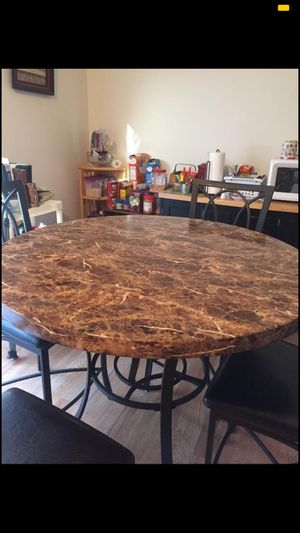 Bar height table and chairs for Sale in St. Louis, MO