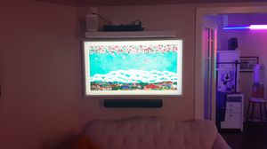 2019 49' SAMSUNG THE FRAME WITH WHITE BEZEL for Sale in San Diego, CA