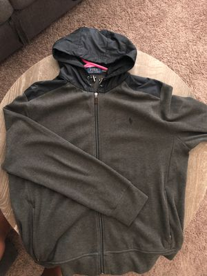 Polo Hoodie Jacket for Sale in Tacoma, WA