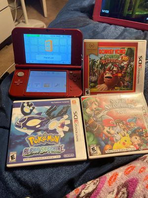 Nintendo 3DS. XL Red for Sale in Las Vegas, NV