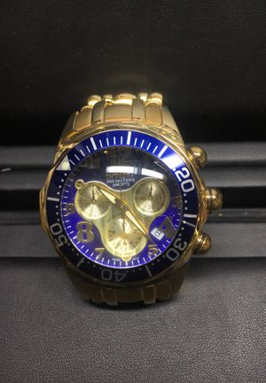 Invicta Lupah Diver Chronograph 23kt Gold-plated Men's Watch for Sale in Littleton, CO