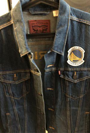 Levi's XXL Warriors Jean Jacket for Sale in Alameda, CA