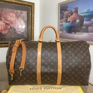 Louis Vuitton Bandouliere Keepall 55 Duffel Bag 💼 for Sale in Mesa, AZ