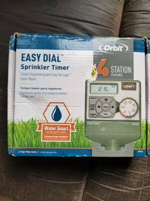 Orbit easy dial sprinkler timer for Sale in Chula Vista, CA