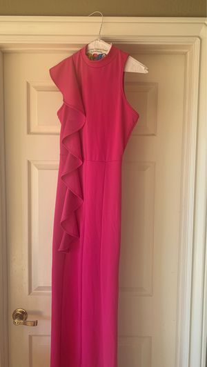 Hot pink jumpsuit size S never worn for Sale in Murrieta, CA