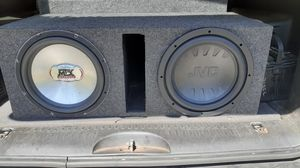 4 12s and 1500 W Audiopipe for Sale in Indianapolis, IN