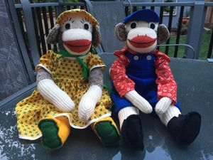Sock Monkey Pair for Sale in Federal Way, WA