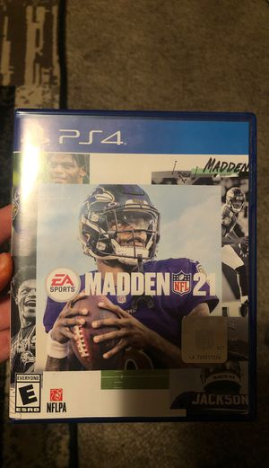 Madden 21 (Ps4) for Sale in Reedley, CA