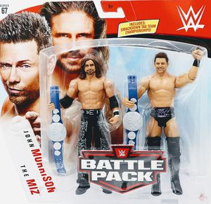 New WWE / WWF John Morrison & The Miz Action Figures. for Sale in Apopka, FL