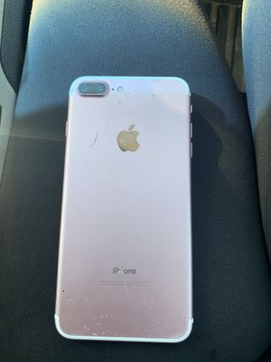 Rose gold iPhone 7 Plus. for Sale in Redlands, CA
