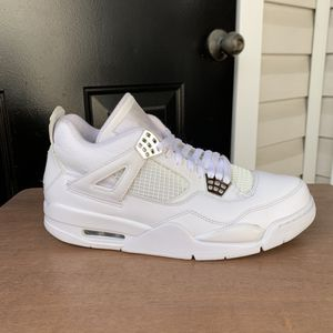 """Air Jordan 4 retro """"Pure $"""" size 10 for Sale in College Park, MD"""