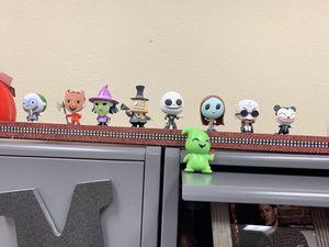 Nightmare Before Christmas Disney mini Funko Pop figures for Sale in Las Vegas, NV