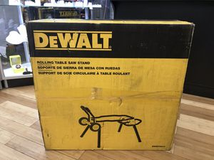 Dewalt DWE74911 Rolling Table Saw Stand for Sale in Framingham, MA