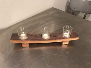 Wine Barrel Candle Holder for Sale in Maple Valley, WA