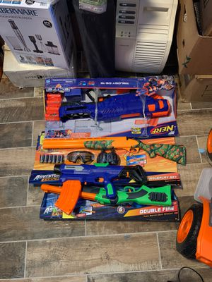 Nerf guns $40 for all price is firm for Sale in North Las Vegas, NV