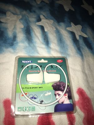 Sport MP3 Headphones *BRAND NEW* for Sale in Hyattsville, MD