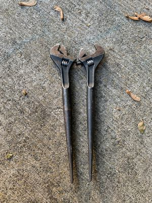"""Crescent wrench with spike 16"""" $30 each for Sale in Oakbrook Terrace, IL"""